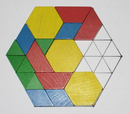Playing with Pattern Blocks | Unschooling Conversations