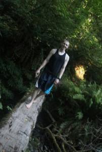 Ben at Camp, age 17