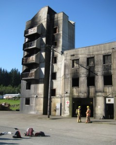 Burn Tower -- Each floor holds various live fire experiences for practical fire training opportunities