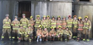 Fire District 1 Student Firefighters